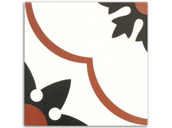 Nantes Rojo 20 x 20 cm, Fliese Serie New Origins