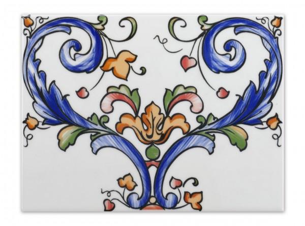 "Spanische Wandfliese ""Zocalo Lucena"", 15x20 cm"