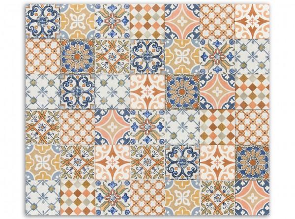 """1 qm """"Calabria Dekor Regionale"""", spanische Wandfliesen, Patchwork"""