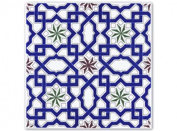 """Spanische Fliese """"Sevilla"""", 20x20 cm"""