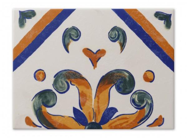 "Spanische Wandfliese ""Zocalo Aveiro"", 15x20 cm"