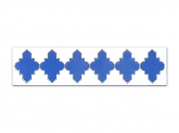 """Spanische Fliese """"Calabrote 2 Tintas"""" 7x28 cm"""