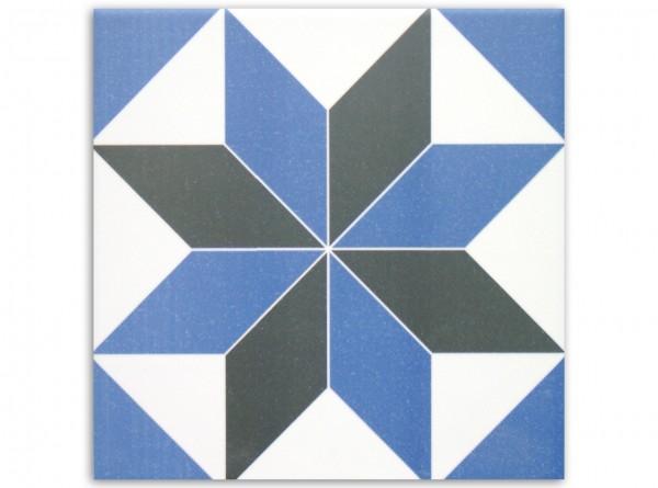 Geo Centro 20 x 20 cm, Fliese Serie Victorian