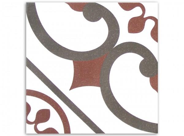 Deco Centro 20 x 20 cm, Fliese Serie Victorian