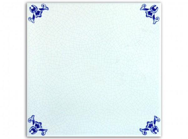 "Spanische Wandfliese ""Zocalo Cuarteo Azul"", 20x20 cm"