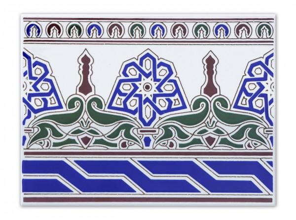 """Spanische Fliese """"Cenefa Sevilla"""", 15x20 cm"""