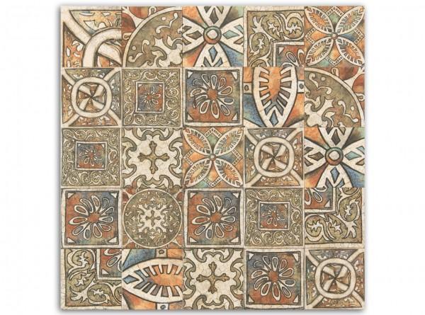 "1 qm ""Bolonia Medievo"", spanische Wandfliesen, Patchwork"