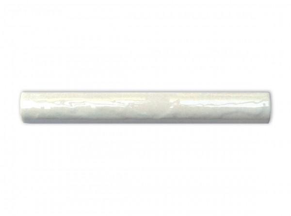 """Spanische Fliesenleiste """"Torelo Livorno Blanco"""", gewölbt, 3x20 cm"""