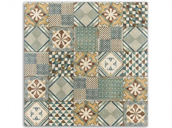 1 qm Padua Base Decor, Patchwork, Serie Esenzia, span, Bodenfliesen, 20x20 cm